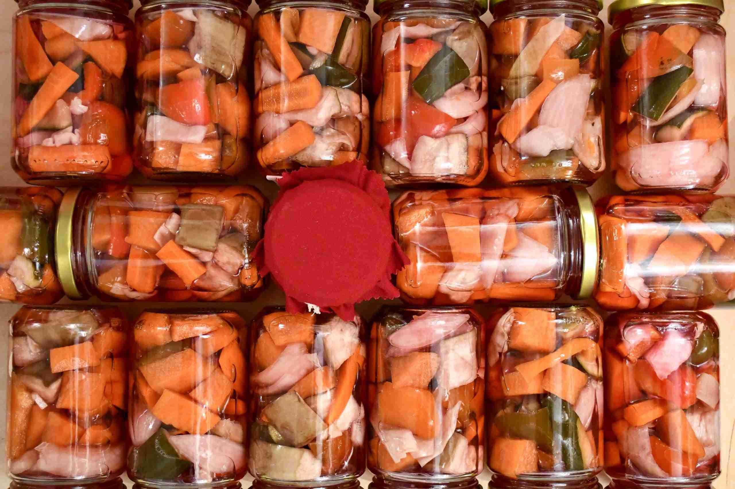 Conserve salate