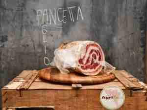 Pancetta all'aglio Affettata