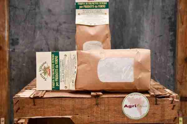 Farina di Frumento Tenero tipo 1 per panificazione - Terre Villane