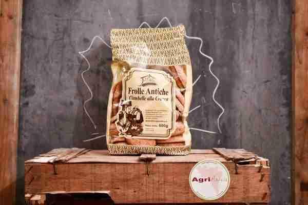 Frolle antiche ciambelle con goccie di cioccolato - Il Forno in Collina