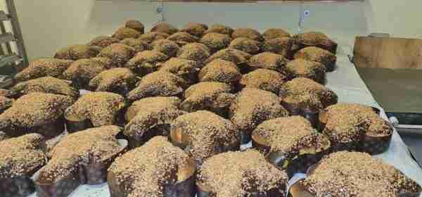 Colomba Pasquale cioccolato e nocciole IGP - Il Panettiere Volante