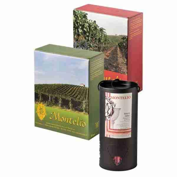 Bag in Box - Rosso - Montelio