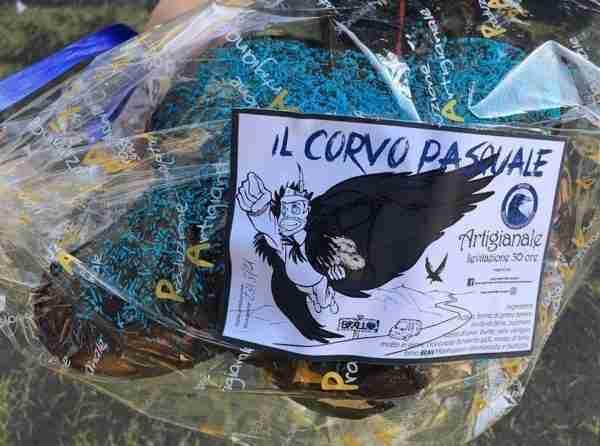 Corvo Pasquale con birra BRAN - Il Panettiere Volante