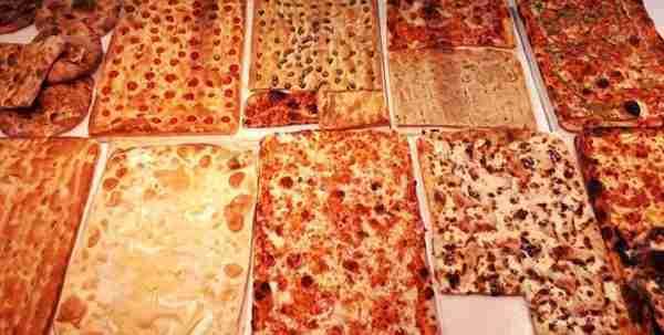 Focacce e pizza al trancio