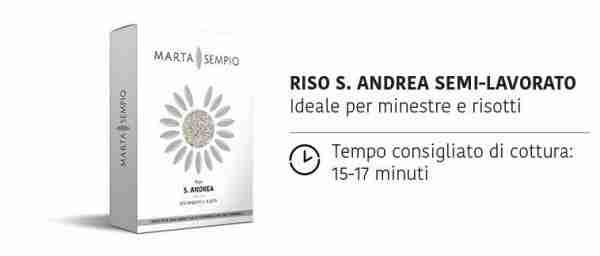 Riso S.Andrea Semi-Integrale - Marta Sempio